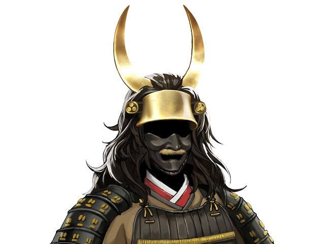石田三成の兜「乱髪天衝脇立兜」