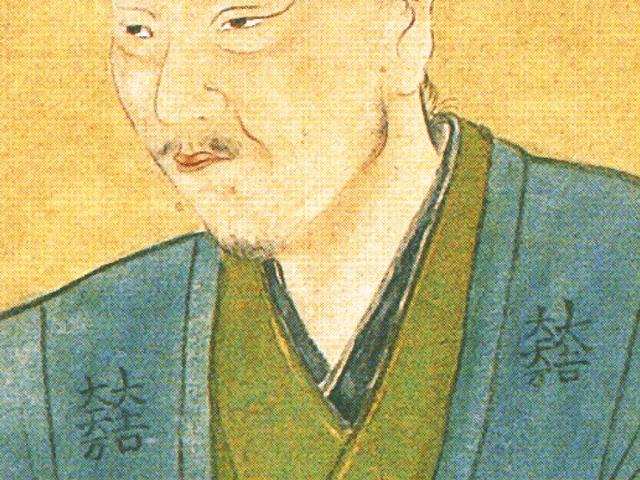 三成の肖像画にみえる「大一大万大吉」の紋