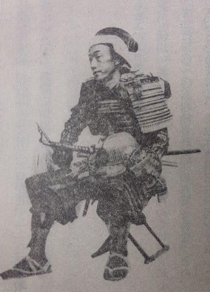 竹中重固の肖像(『岐阜県史 通史編近世 下』より)