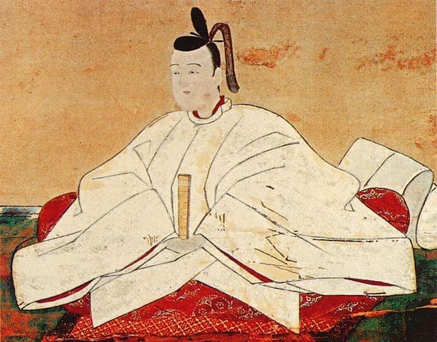 豊臣秀頼の肖像画(養源院 蔵)