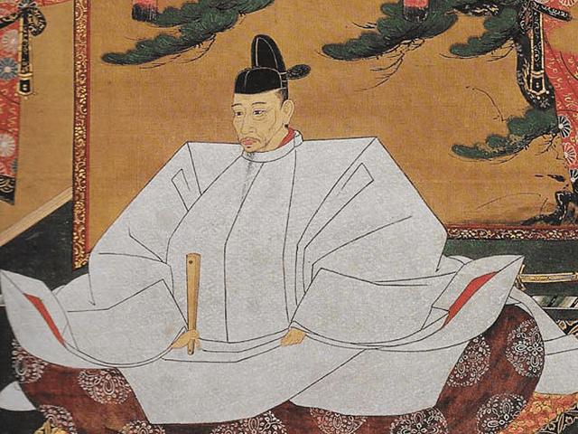 豊臣秀吉の肖像画(狩野光信筆 高台寺蔵)