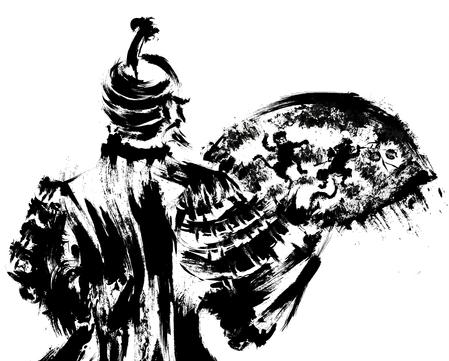 秀吉のイラスト90