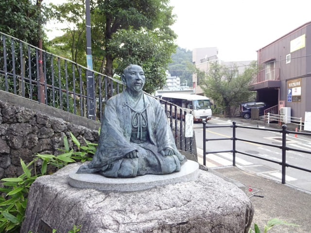 有馬温泉の太閤秀吉の像