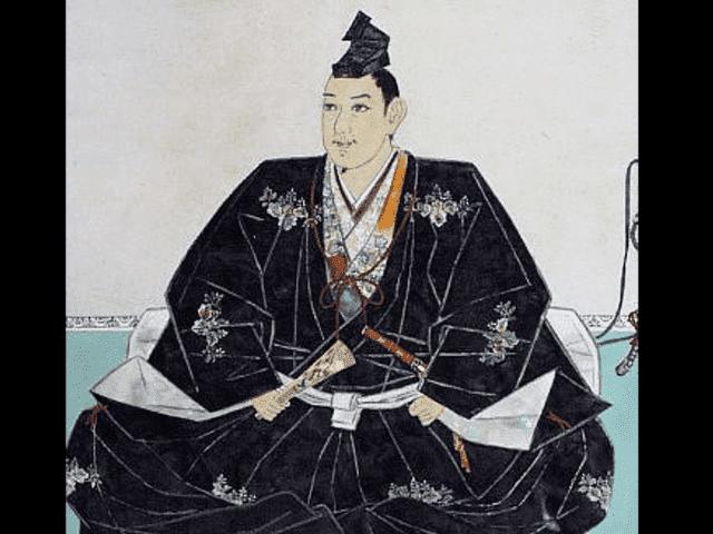 宇喜多秀家の肖像画(岡山城蔵)