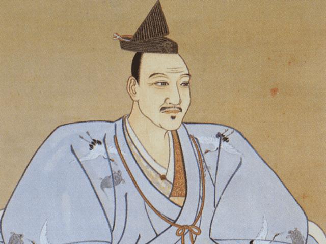 北条氏康の肖像画(小田原城天守閣所蔵)