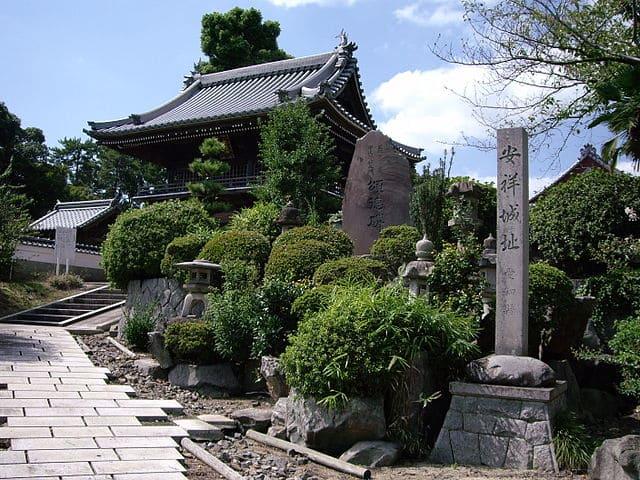 安祥城跡(現在の愛知県安城市安城町)
