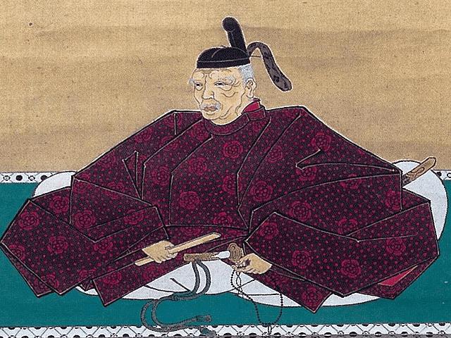 本多正信の肖像画(佐々木龍泉 筆、加賀本多博物館所蔵)