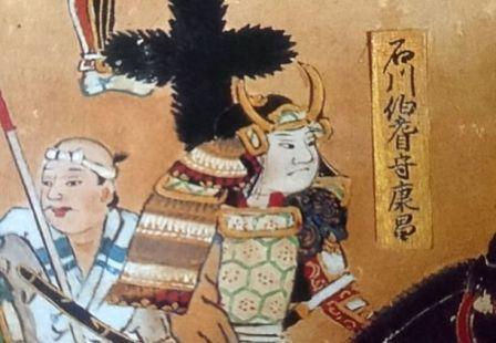 石川数正の肖像画(長篠合戦)