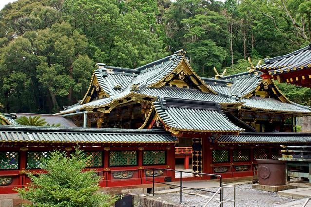 久能山東照宮の社殿