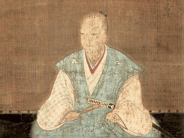 松平清康の肖像画(随念寺 蔵)