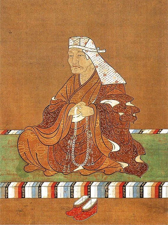 足利宗家の3代目・足利義氏の肖像画(鑁阿寺 蔵)