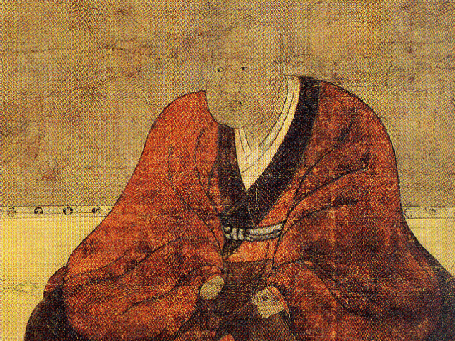 今川氏真の肖像画(個人蔵)