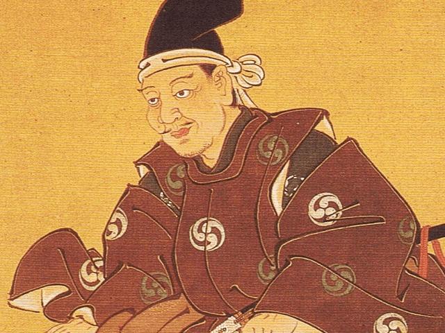 直江兼続の祖先とされる「樋口兼光」の像(徳音寺所蔵)