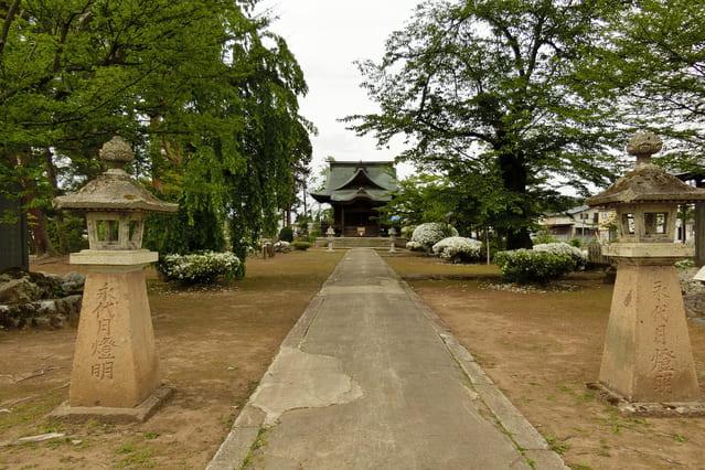 米沢にある法泉寺の文殊堂
