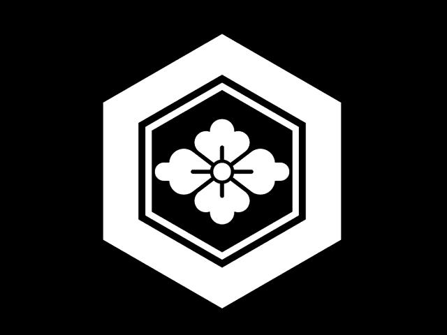 家紋「亀甲に花菱」