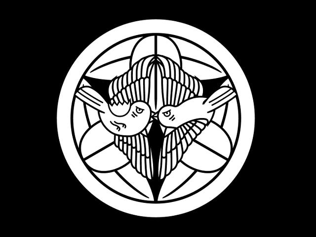 「上杉笹(竹に雀)」の家紋