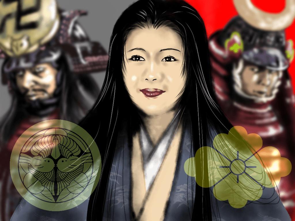 菊姫のイラスト