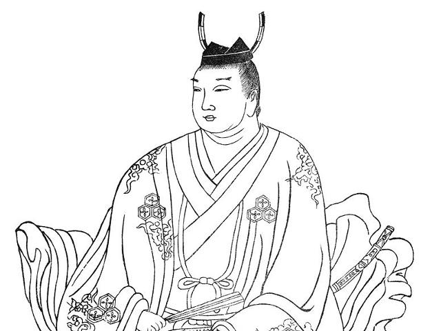直江景明の像(『集古十種』より)