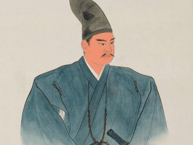 上杉景勝の肖像画(上杉神社所蔵。作者不明)