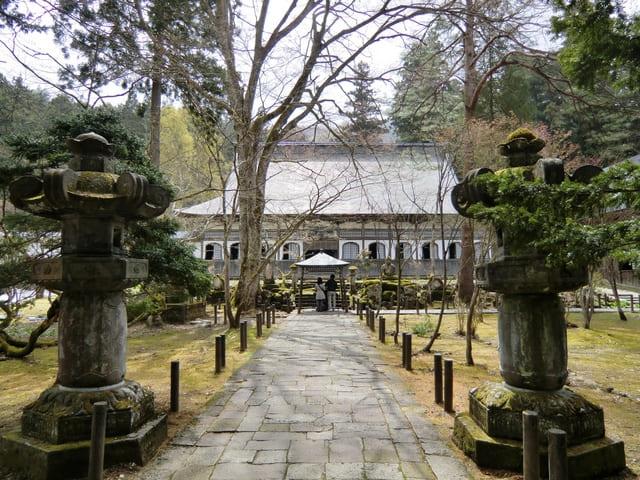 坂戸城近くにある「雲洞庵」