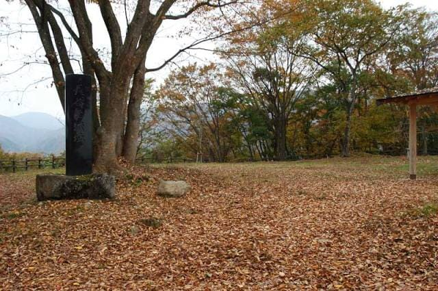 長谷堂城の本丸跡