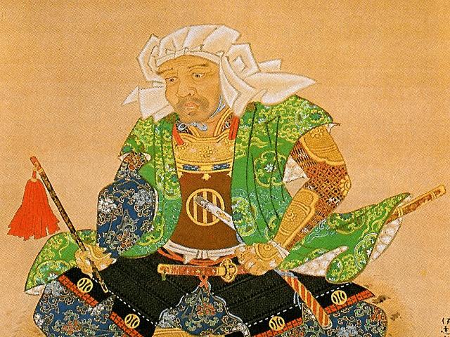 伊達家の祖・伊達朝宗の肖像画(伊達吉村 筆、満願寺所蔵)