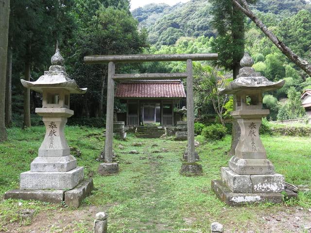 石見銀山の豊栄神社