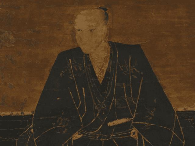元就の兄・毛利興元の肖像画