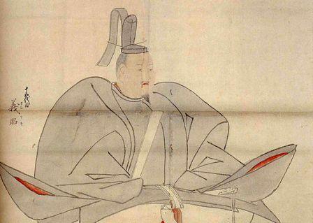 足利義昭の肖像画(東京大学史料編纂所蔵)