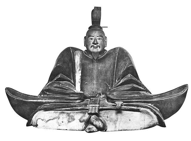 足利義昭の坐像(等持院霊光殿安置)