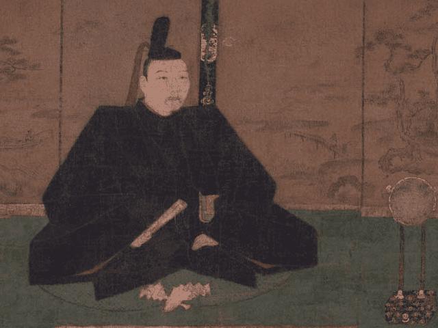 足利義政の肖像画(土佐光信画、東京国立博物館 蔵)