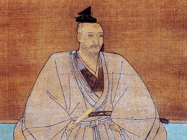 三好実休の肖像画(妙国寺 所蔵)