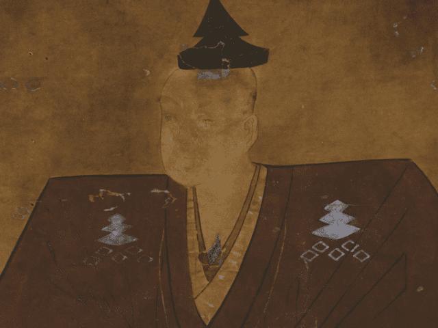 三好元長の肖像画(見性寺 蔵)