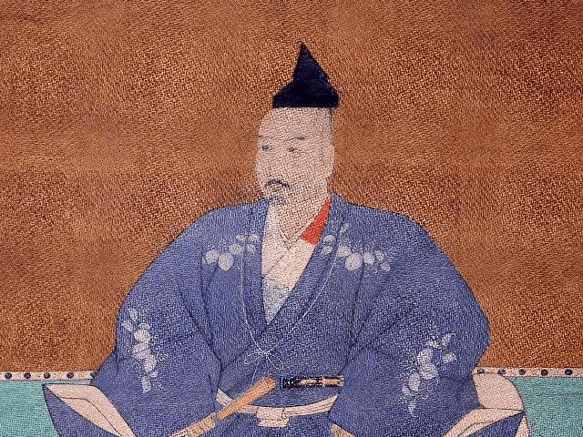 三好長慶の肖像画(大徳寺・聚光院蔵)