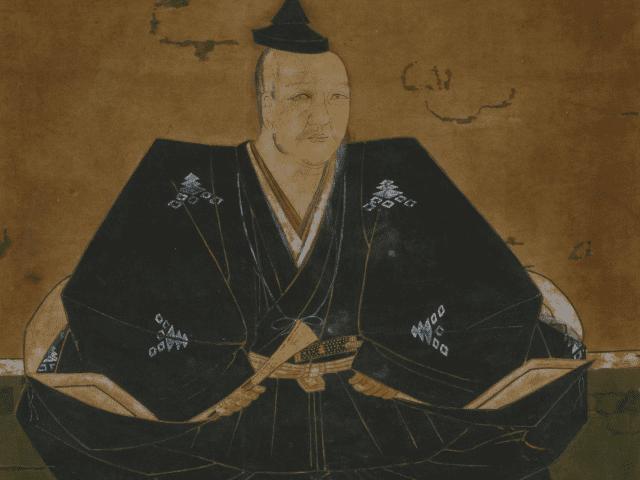 三好之長の肖像画(見性寺 蔵)