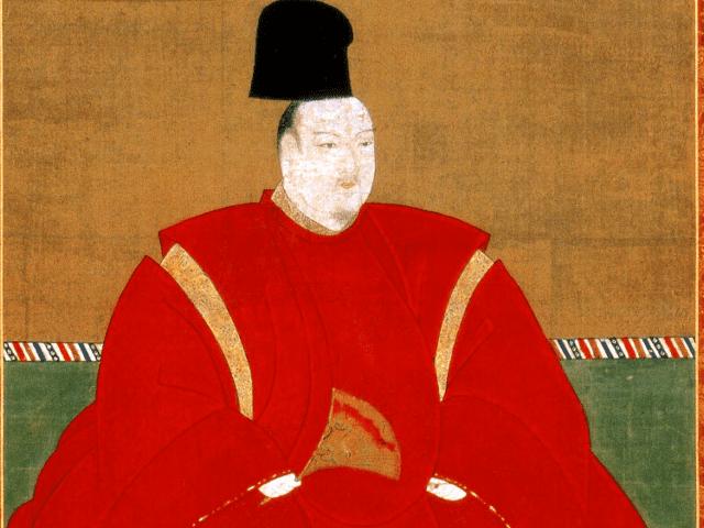 誠仁親王の肖像画(泉涌寺蔵)