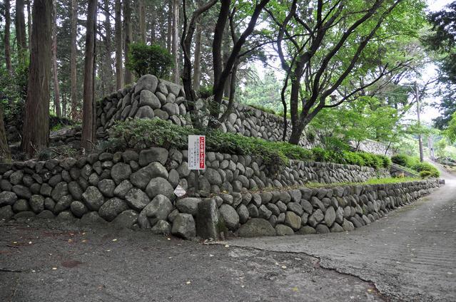 大河内城跡の石垣