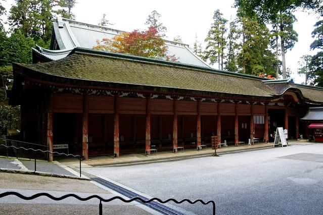 延暦寺の総本堂である「根本中堂」