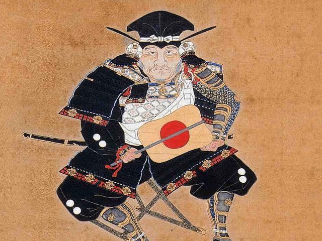 池田恒興の肖像画(林原美術館 蔵)
