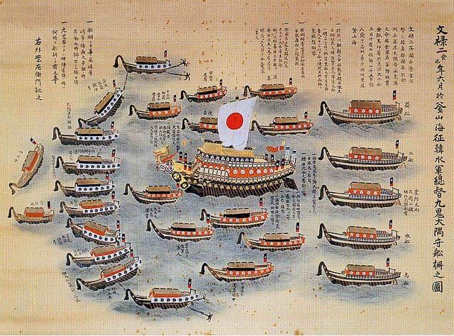 文禄の役における九鬼嘉隆の海軍艦隊