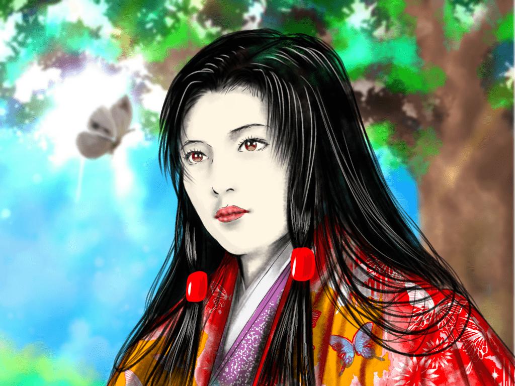 濃姫のイラスト