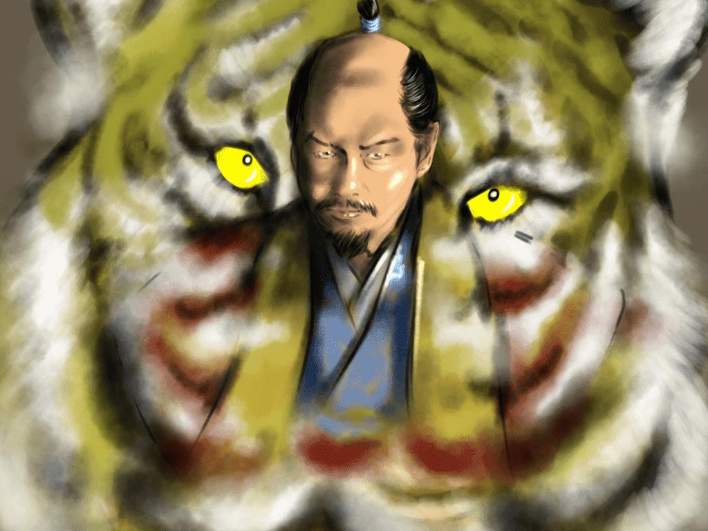 織田信秀のイラスト