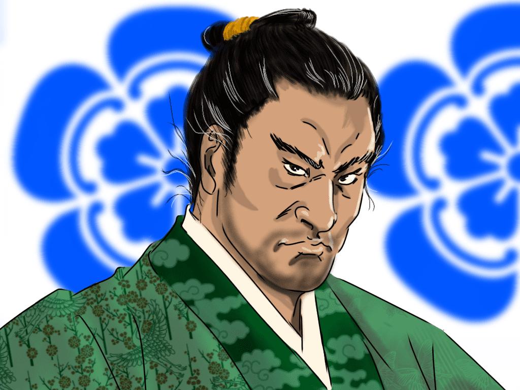織田信広のイラスト