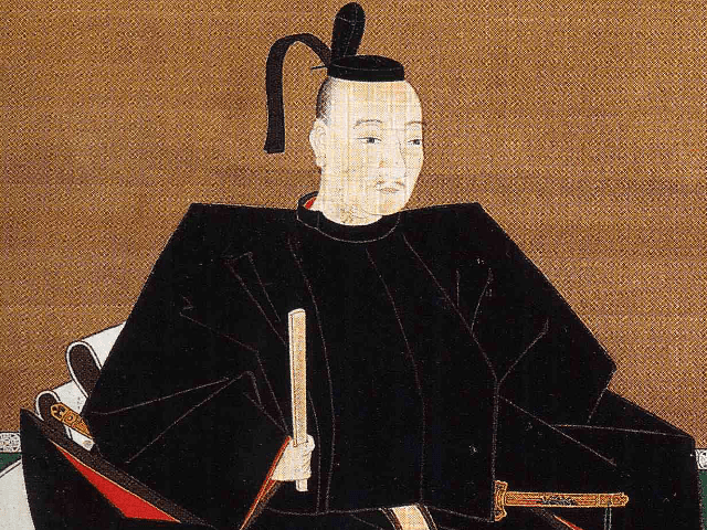 織田信雄の肖像画(総見寺蔵)