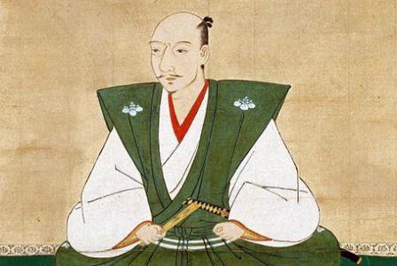 肩衣を着用している織田信長の肖像画(狩野元秀画)