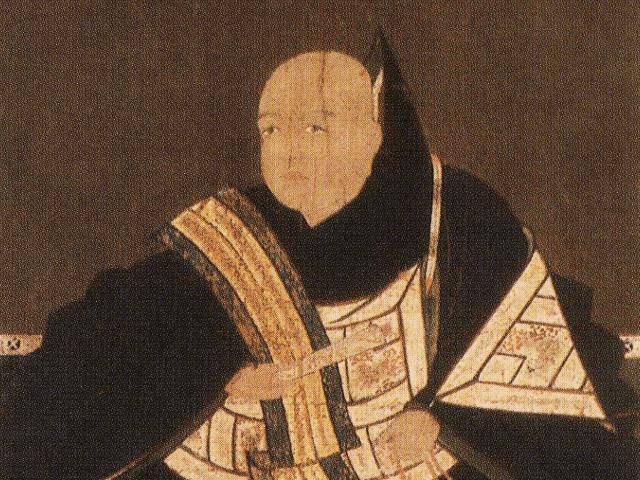 筒井順慶の肖像画(伝香寺 蔵)