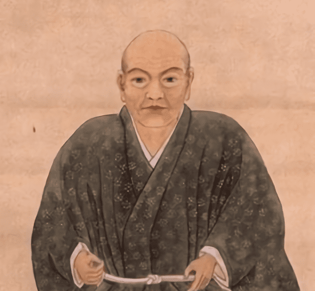 蘆名盛氏の肖像画(東京大学史料編纂所 所蔵)