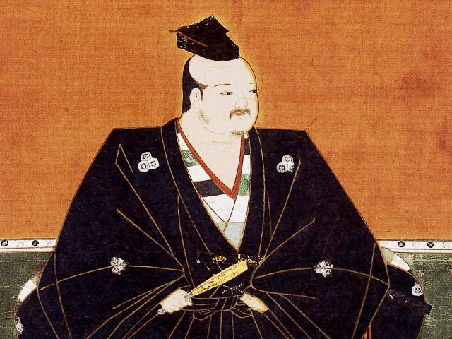 浅井長政の肖像画(高野山持明院蔵)