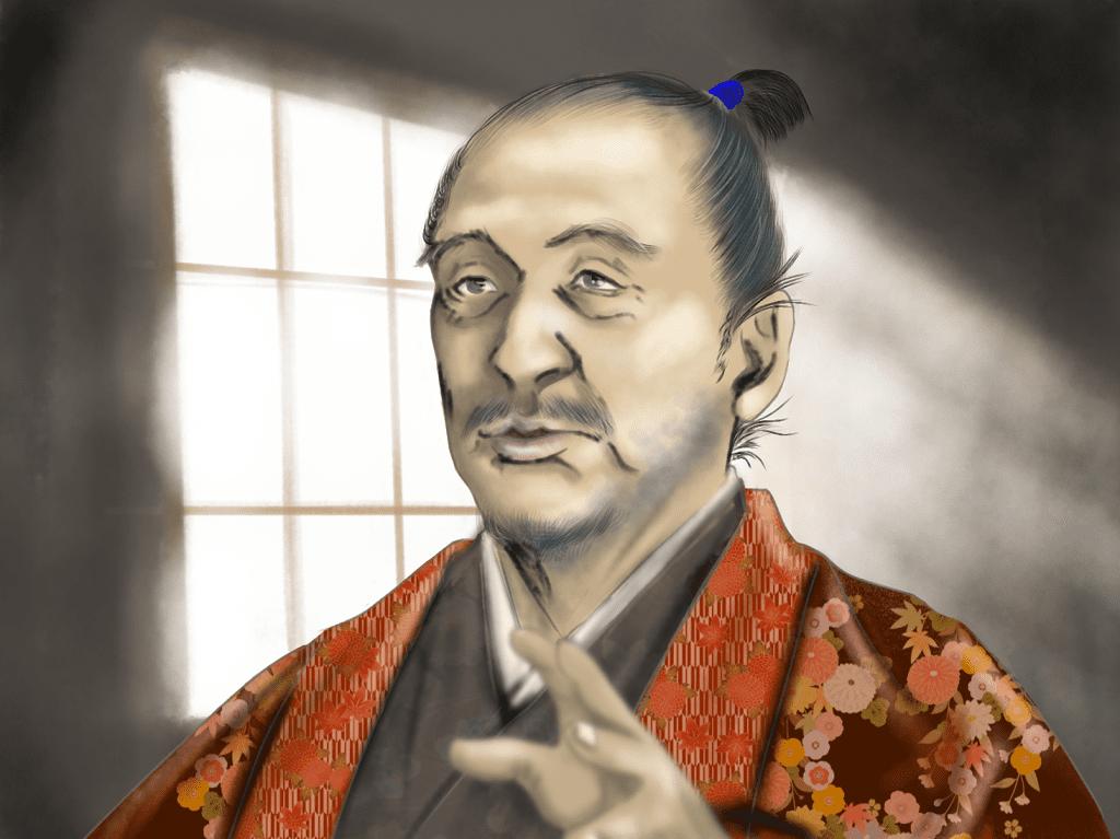 松井友閑のイラスト