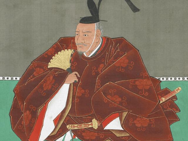 鍋島直茂の肖像画(鍋島報效会 所蔵)
